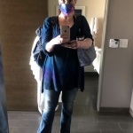 bonnie gillespie oct 2 2020 heat holiday shore hotel santa monica masked up